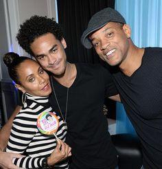Jada and Will Smith Hit Sin City for Trey Smith's 22nd Birthday at Ghostbar Dayclub inside Palms Casino Resort (Photo credit: Bryan Steffy / WireImage / www.BryanSteffyPhoto.com).