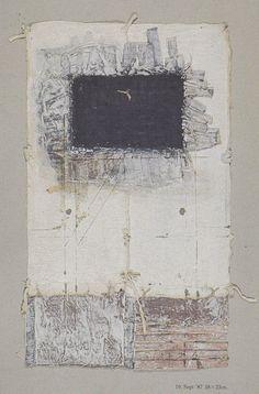 D-10.Sep.1987製紙・塗装・紙コラージュ林勝彦林孝彦1987