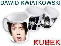 Dawid Kwiatkowski na kubku! Taki fotokubek to idealny prezent dla każdej fanki tego artysty.