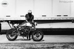 RocketGarage Cafe Racer: 1972 Honda CB450 Raffle Bike