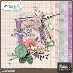 Scrap On Mini :: Gotta Pixel Digital Scrapbook Store by Aimee Harrison $2.99