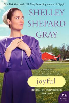 Crafts-n-Fitness: Shelley Shepard Gray is heading back to Sugarcreek in JOYFUL! {Book giveaway and review}