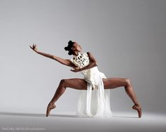 Ashley Mayeux of Alvin Ailey American Dance Theater Photo by Rachel Neville Dance Photography Poses, Dance Poses, Creative Dance Photography, Alvin Ailey, Ballet Art, Ballet Dancers, Dance Outfit, Black Dancers, Ashley Nicole