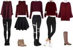 Trendy Fall Outfits for Teens Teenager Outfits, Teenager Mode, Cute Teen Outfits, Cute Outfits For School, Junior Outfits, Trendy Outfits, Fall Outfits, Cute Teen Clothes, Outfits For The Movies