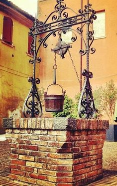 Qayabat is an arabic term which refers to a platform on the wall of a well near a water which cannot be seen from above the wall Love Garden, Garden Art, Garden Design, Gazebos, Outdoor Kitchen Patio, Fountain Design, Water Drawing, Water Well, Garden Fountains