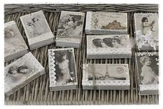Country Home: Nostalgic matchboxes (DIY) ...