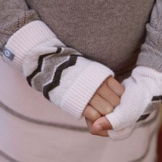 It's getting chilly! Our warmers are perfect for keeping little hands snug and stylish!