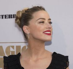 5 fun braid, bun, and blowout ideas for the rest of the week—courtesy of Amber Heard