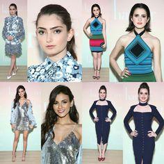 #EmilyRobinson, #VictoriaJustice, #LauraMarano, and #VanessaMarano at #HarpersBazaar May Issue Party in Los Angeles!