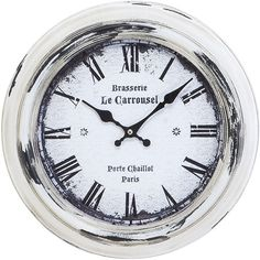 I pinned this Alsace Wall Clock from the Grove Street Designs event at Joss and Main!