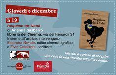 """Cosa fa una tomba-sitter? Scopriamolo con Arianna Gasbarro, autrice di """"Requiem del Dodo"""". Domani #piulibri2012."""