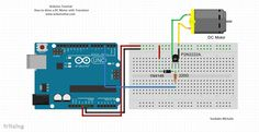 How to Drive a DC Motor With Transistor - Arduino Tutorial : 4 Steps - Instructables Arduino Board, Drive A, About Me Blog, Coding, Electronics, Grad, Jessie, Motors, Raspberry