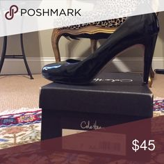 Cole Haan Violet Air Pump [Nike collaboration] Black patent leather | size 7 | gently worn Cole Haan Shoes Heels