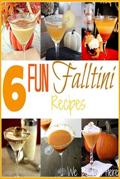 WE DO FUN HERE| 6 Fun Falltini Recipes