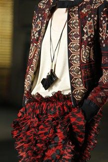 ss14 Dries Van Noten at #pfw @Vogue