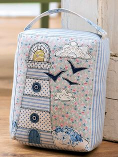 Free Pattern - Nautical Doorstop in Tilda fabrics (log-in required) Applique Patterns, Sewing Patterns Free, Free Sewing, Sewing Tutorials, Quilt Patterns, Sewing Hacks, Sewing Crafts, Sewing Projects, Free Pattern