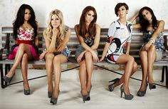 The Saturdays    they are all so elegant and pretty I wanna dress like them when I'm older