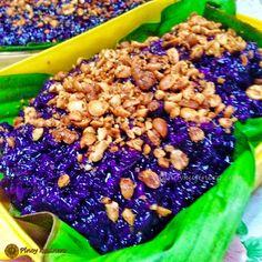 Biko na Pirurutong (Sweet Violet Rice Cake)   Pinoy Kusinero