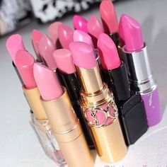 The one thing I don't go without - my lipstick.