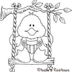 dj inkers b n - Espe Escribano - Picasa Web Albums Pattern Coloring Pages, Coloring Book Pages, Coloring Pages For Kids, Coloring Sheets, Embroidery Applique, Cross Stitch Embroidery, Embroidery Patterns, Easter Colouring, Adult Coloring