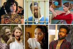 A sampler of television as dizzying and agitated as the year we've just lived through. NYT 2016