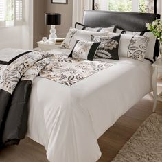 New to the shop! Silver, gold, black and natural duvet cover set. Shrewsbury. It's a lux grow up thing