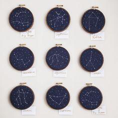 Pattern Inspiration: Cross-Stitch Constellations