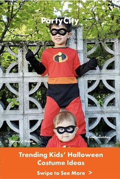 Get inspired with Halloween costumes all kids will love! All Kids, Halloween Costumes For Kids, Disney Pixar, Fairy Princesses, Unique, Fun, Inspired, Halloween Costumes For Children, Hilarious
