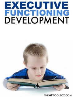 When wondering what is executive function in child development, this breakdown of executive functioning skills development will help parents and teachers understand how children develop in attention, impulsivity, attention, and other executive function skills.
