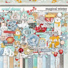 Magical Winter by Blagovesta Gosheva & Red Ivy Designs