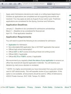 gpa requirements for usf university of south florida usf edu application requirements for usf to apply usf edu