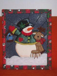 Cuadros de navidad en icopor con moldes imagui for Cuadros de navidad