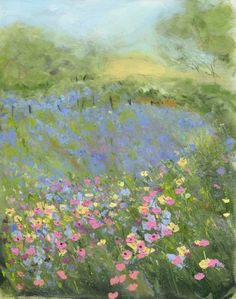 sue fenlon art: Two new paintings for spring