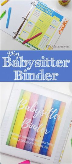 Make stress-free nights out with your husband possible with this DIY babysitter binder! You can enjoy your time together without worrying about your kids.