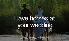 Un-completed horse bucketlist things