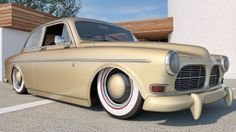 1961 Volvo Amazon Coupe by SamCurry.deviantart.com on @deviantART