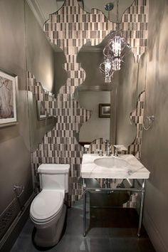 San Francisco Decorator Showcase 2012 - eclectic - powder room - san francisco - KCS, Inc.
