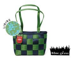 Harveys Seatbelt Bags ~ Blue Grass Med. Tote LTD