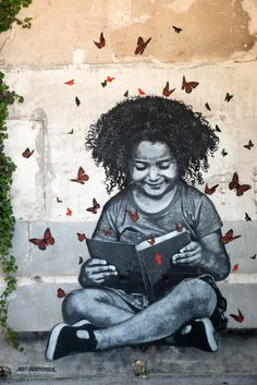 Street Art by Jef Aerosol, Fort d'Aubervilliers, France