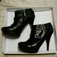 booties black, guess Shoes Ankle Boots & Booties