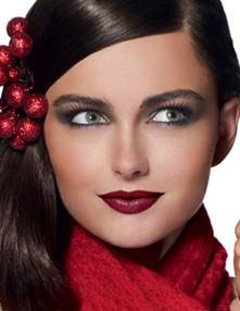 ... , go forth and be merry this season with these easy makeup tips, guaranteed to make you a hit at your next holiday party!