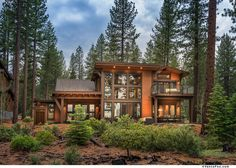 Through a successful process with detailed deliverable documentation the dreams are realized Luxury Cabin, Luxury Homes Dream Houses, Dream Homes, House In Nature, House In The Woods, Nelson Homes, Mountain Home Exterior, Montana Homes, Dreams