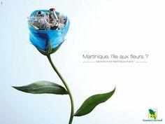 Environnement durable - Campagne sensibilisation contre la pollution en Martinique - 2017