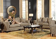 Superior For A Cindy Crawford Home Nolita 5 Pc Living Room At Rooms To Part 22
