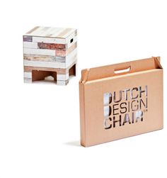 Dutch design chair is verkrijgbaar bij Atlantis Cardboard Chair, Beach Wood, Craft Box, Restaurant Design, Chair Design, Tech Accessories, Stationery, Cool Stuff, Storage