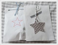 House No. Paper Packaging, Pretty Packaging, Christmas Gift Tags, Christmas Wrapping, Craft Gifts, Diy Gifts, Packing Wrap, Present Wrapping, Paper Stars