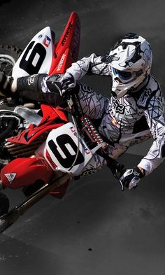 Picture of Dirt Bike Jump Background Case For iphone 5 PC White Motocross Maschinen, Off Road Moto, Motocross Videos, Bmw Touring, Enduro Motocross, Freestyle Motocross, Dirtbikes, Street Bikes, Bike Life
