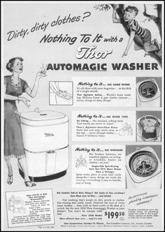 THOR AUTOMAGIC WASHER WOMAN\'S DAY 10/01/1949 p. 7