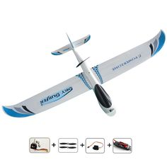 (189.00$)  Watch more here - http://aip0d.worlditems.win/all/product.php?id=954320970 - Free shipping Radio control 2000mm Skysurfer glider FPV model airplane electric aeromodelismo controle remoto airplane glider