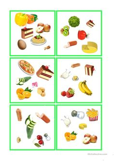 Food Spot, Healthy Eating Recipes, Worksheets, Crafts For Kids, French Expressions, Words, Science, Autism, Board Games